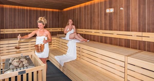 Sauna im Seligweiler Hotel