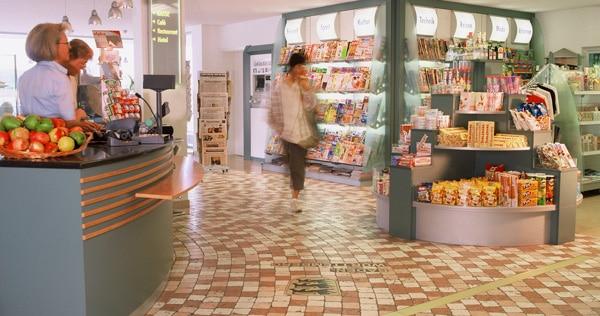 Shop und Kaffee Bar im Seligweiler Hotel & Restaurants